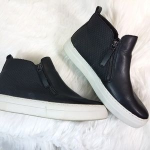 Brash Side Zip Sneaker Ankle Booties